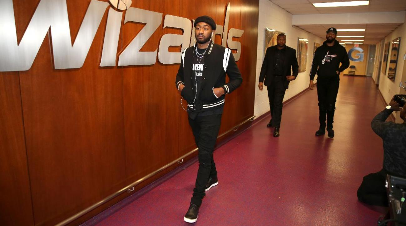 Wizards keep promise, wear all black to game vs. Celtics