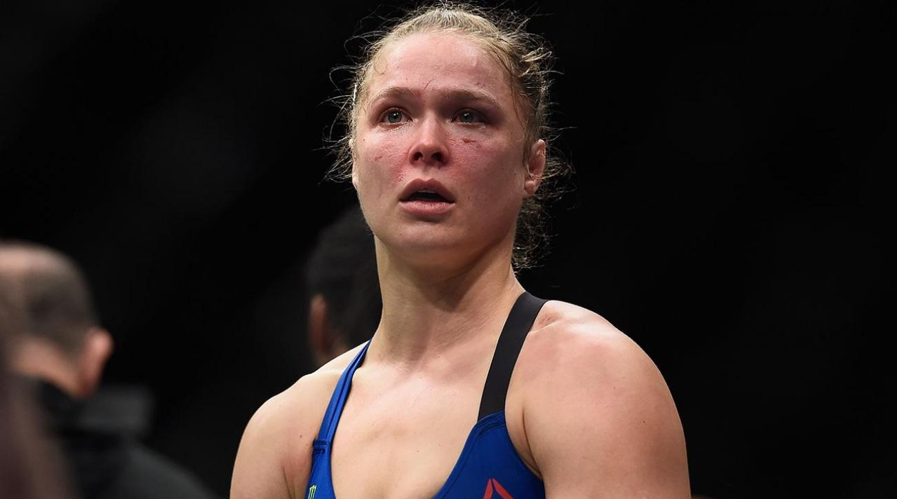 UFC president Dana White says Ronda Rousey 'probably done' with fighting