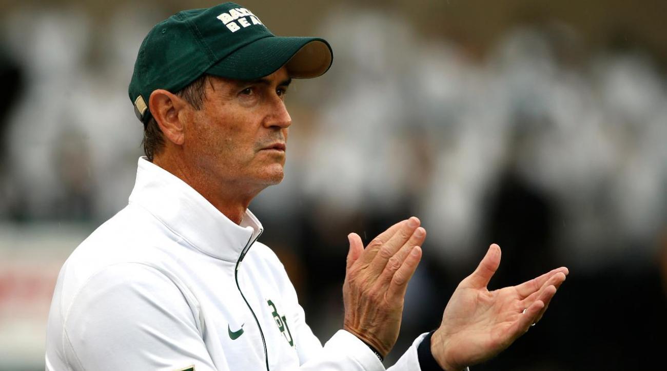 Ex-Baylor coach Art Briles drops libel lawsuit against university officials