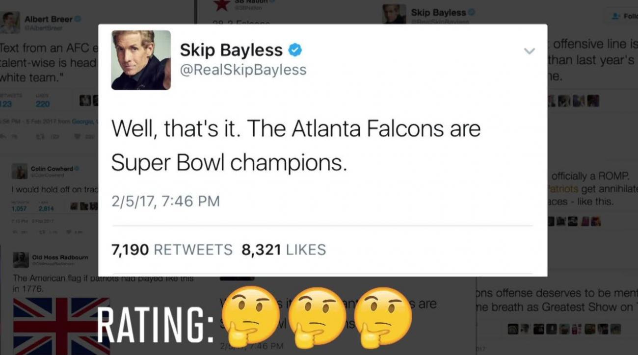 The best premature Super Bowl tweets