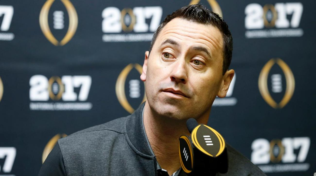 Falcons reportedly hire Steve Sarkisian as offensive coordinator
