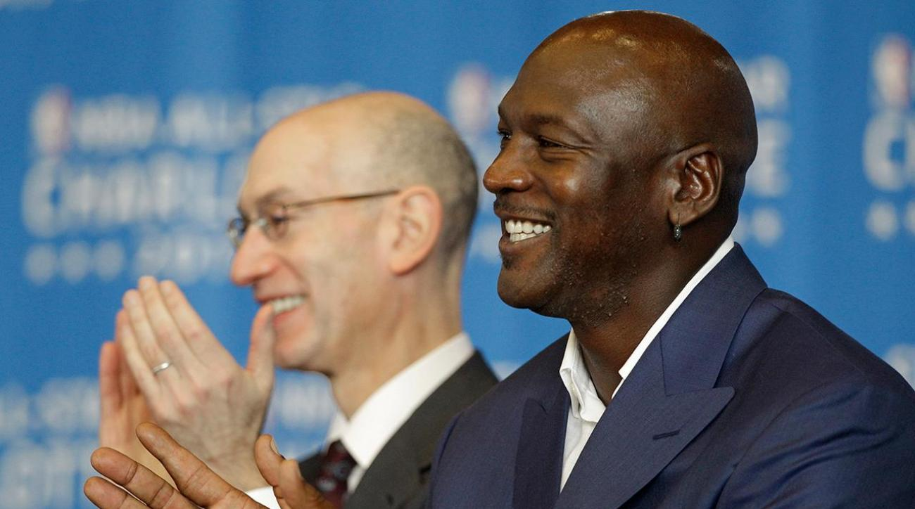 Report: Michael Jordan, Adam Silver may try to mediate Knicks-Oakley dispute
