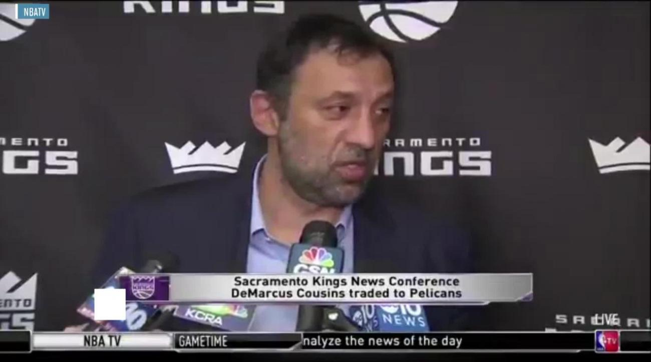 Vlade Divac admitted Kings had a better trade offer for DeMarcus Cousins