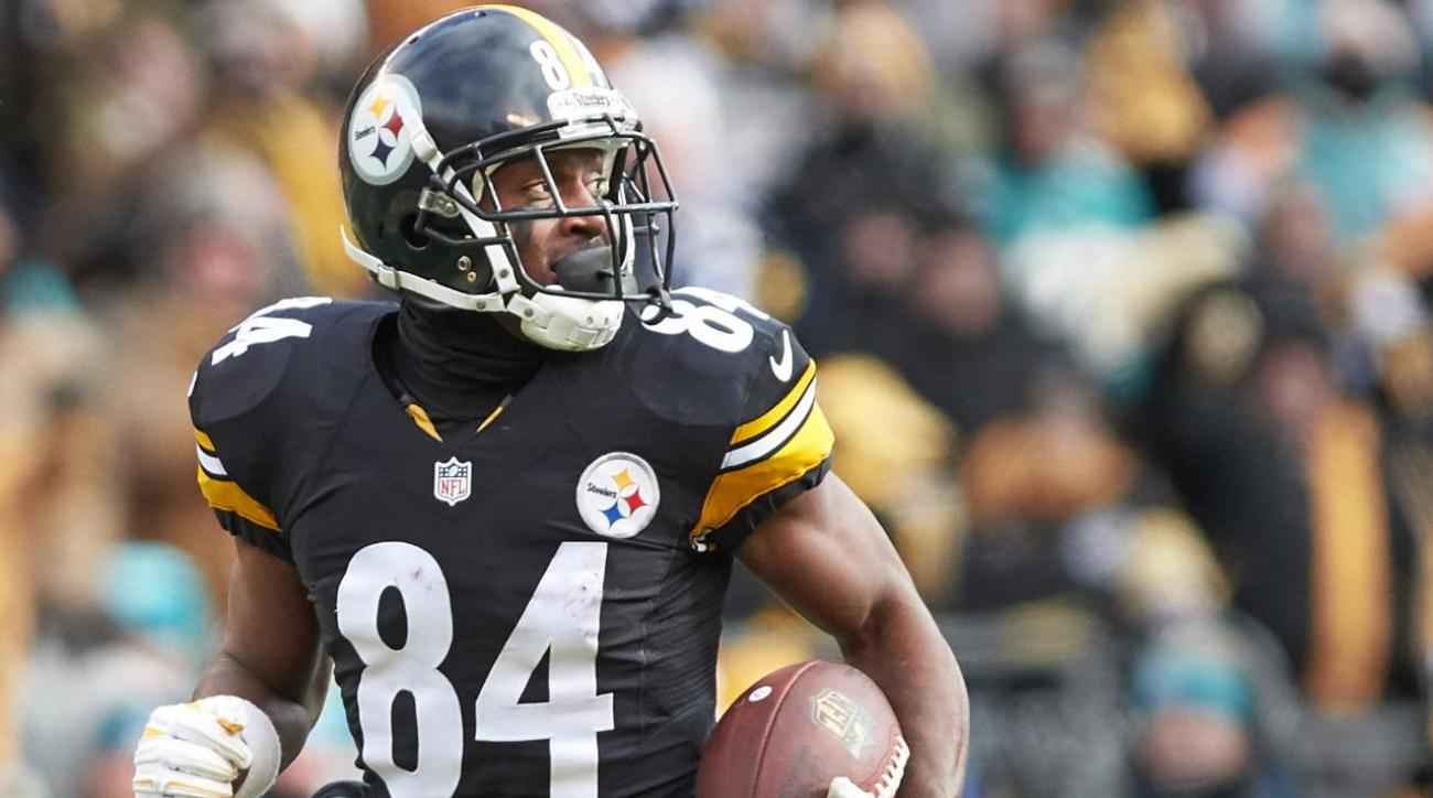 Antonio Brown becomes NFL's highest-paid WR with four-year, $68 million extension