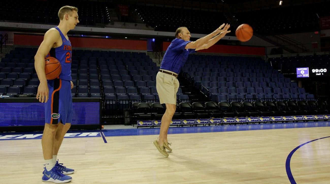 Rick Barry has passed his unique shooting style down IMG