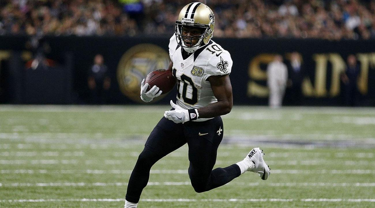 Johnny Jones, Brandin Cooks exit the scene