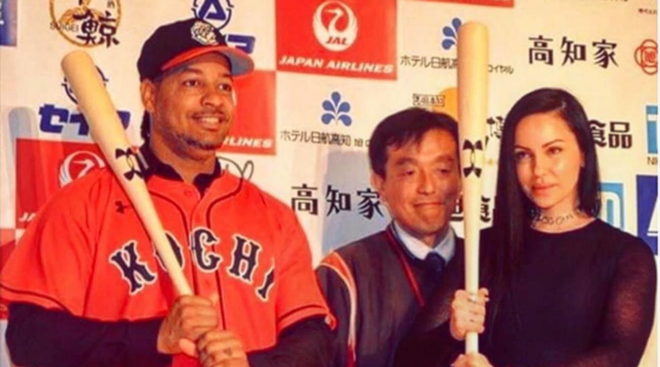 Manny Ramirez gets to play baseball and eat unlimted sushi image