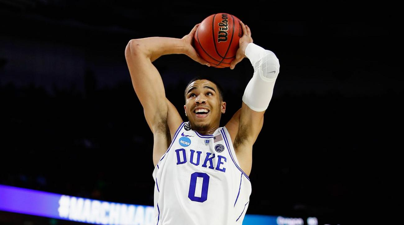 Duke forward Jayson Tatum to declare for National Basketball Association draft