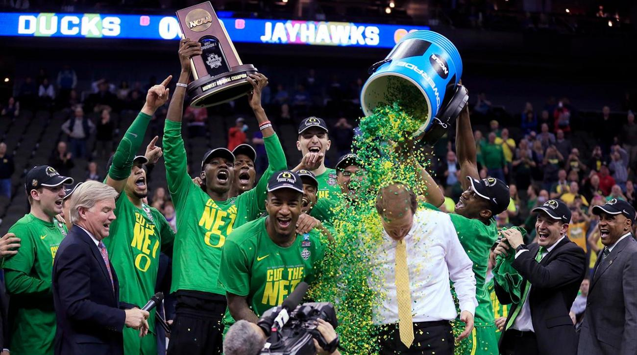 Oregon advances to first Final Four since 1939 with win over Kansas