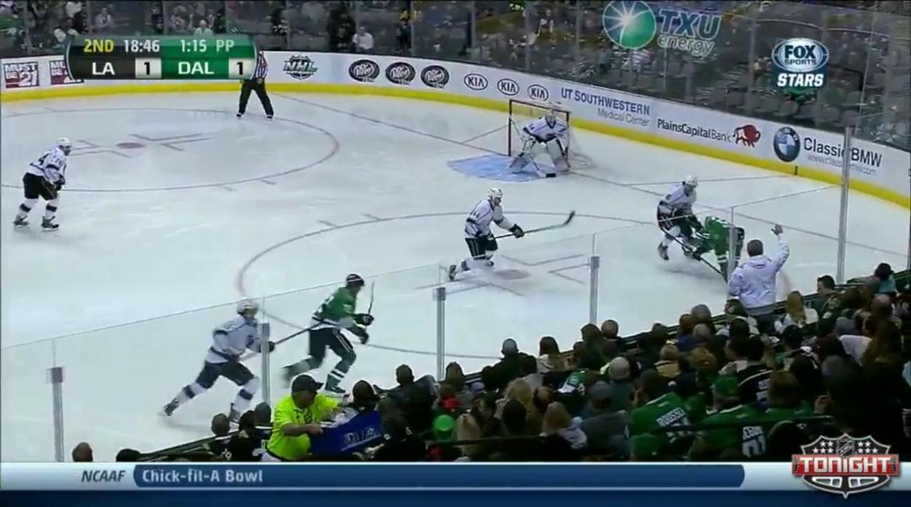 Erik Cole scores twice, leads Stars to win over Kings