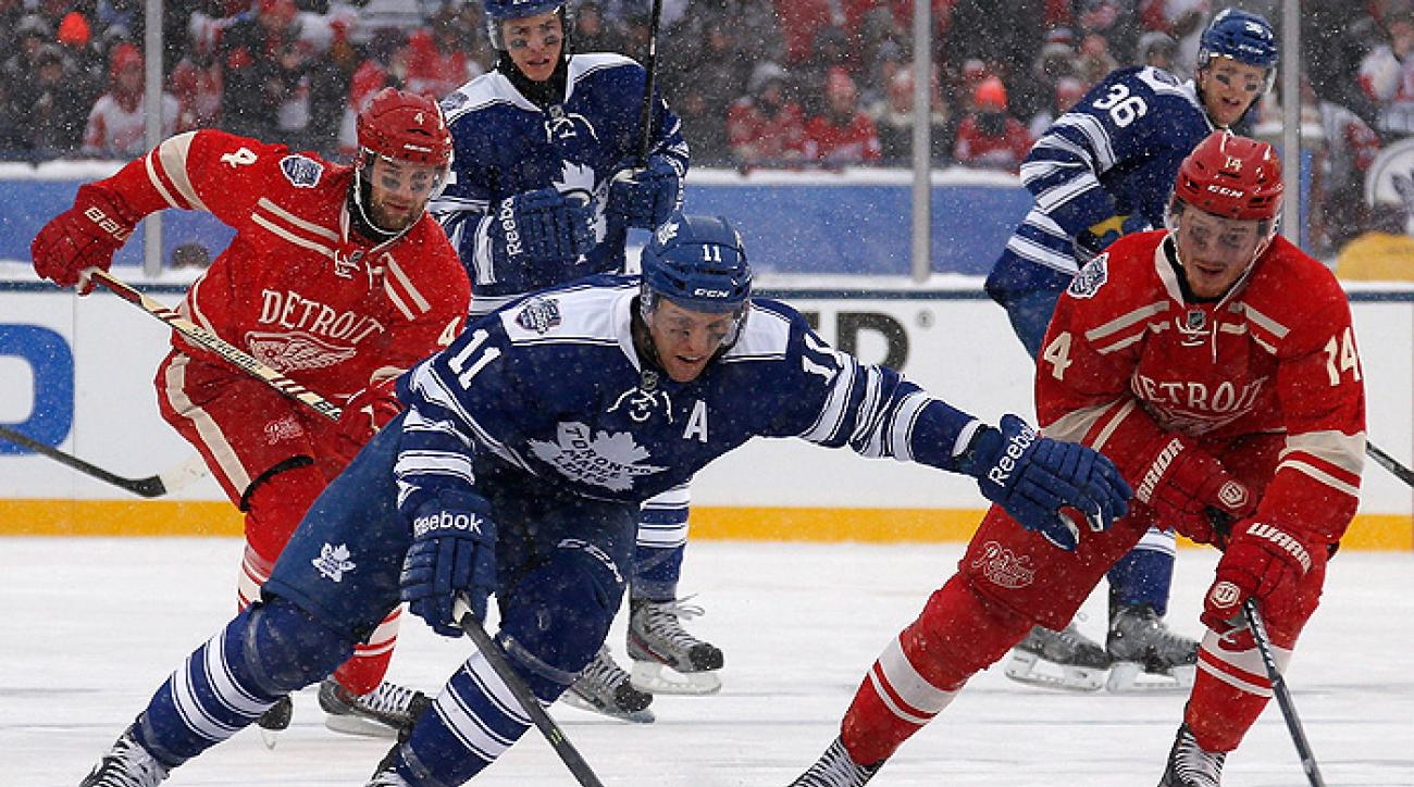 Leafs take out Wings in Winter Classic shootout