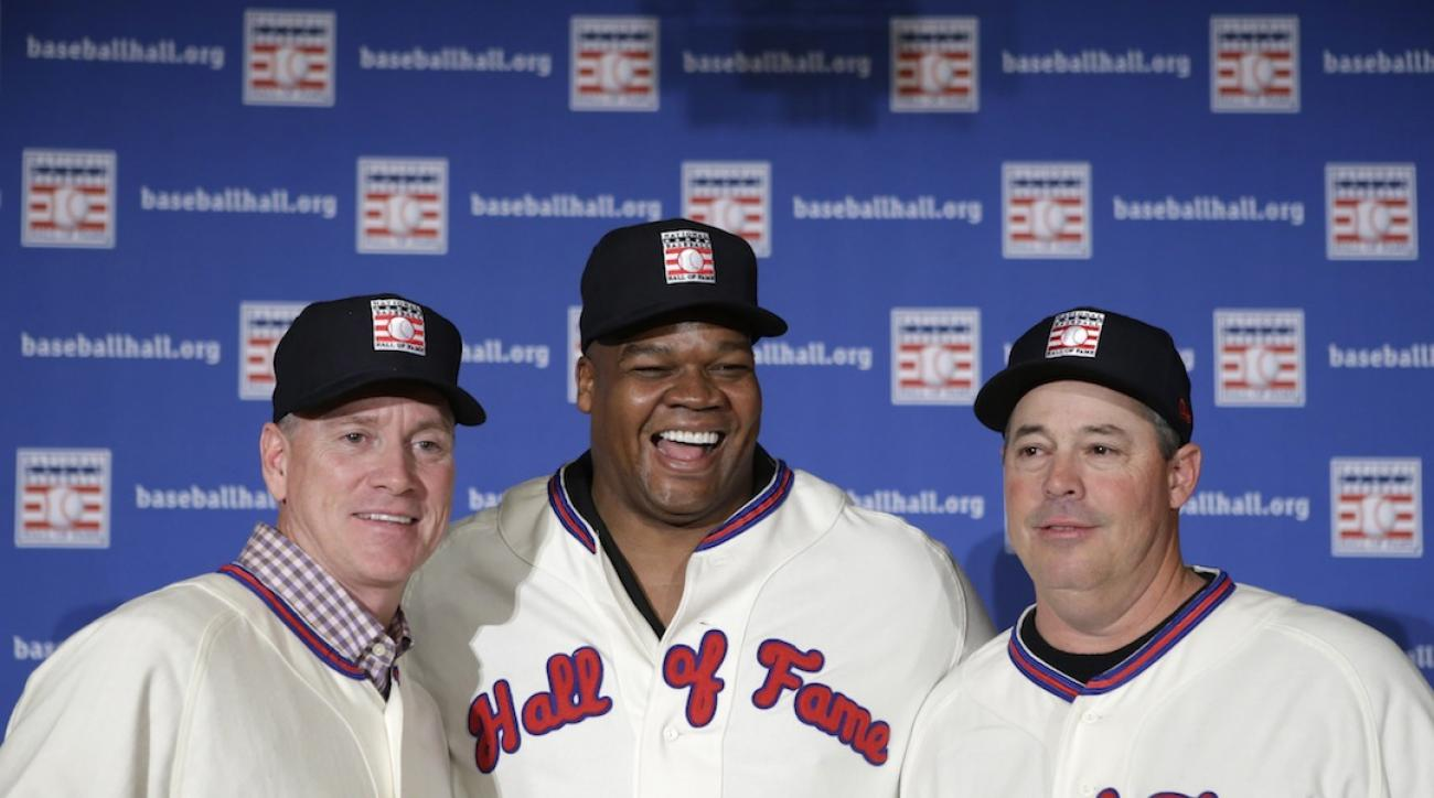 Hall of Fame inductees on honor of being selected