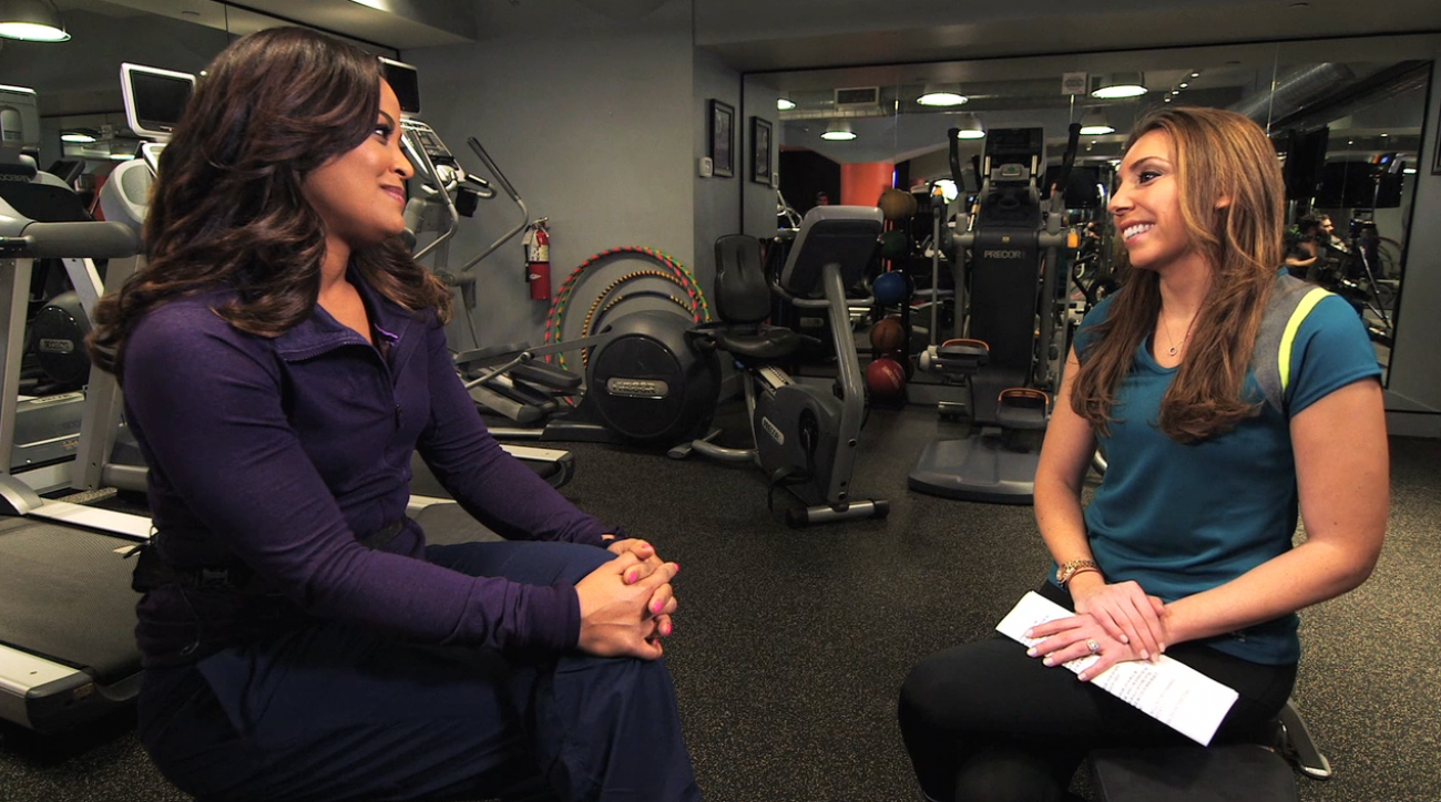 SI Now: Hitting the gym with wellness expert Laila Ali