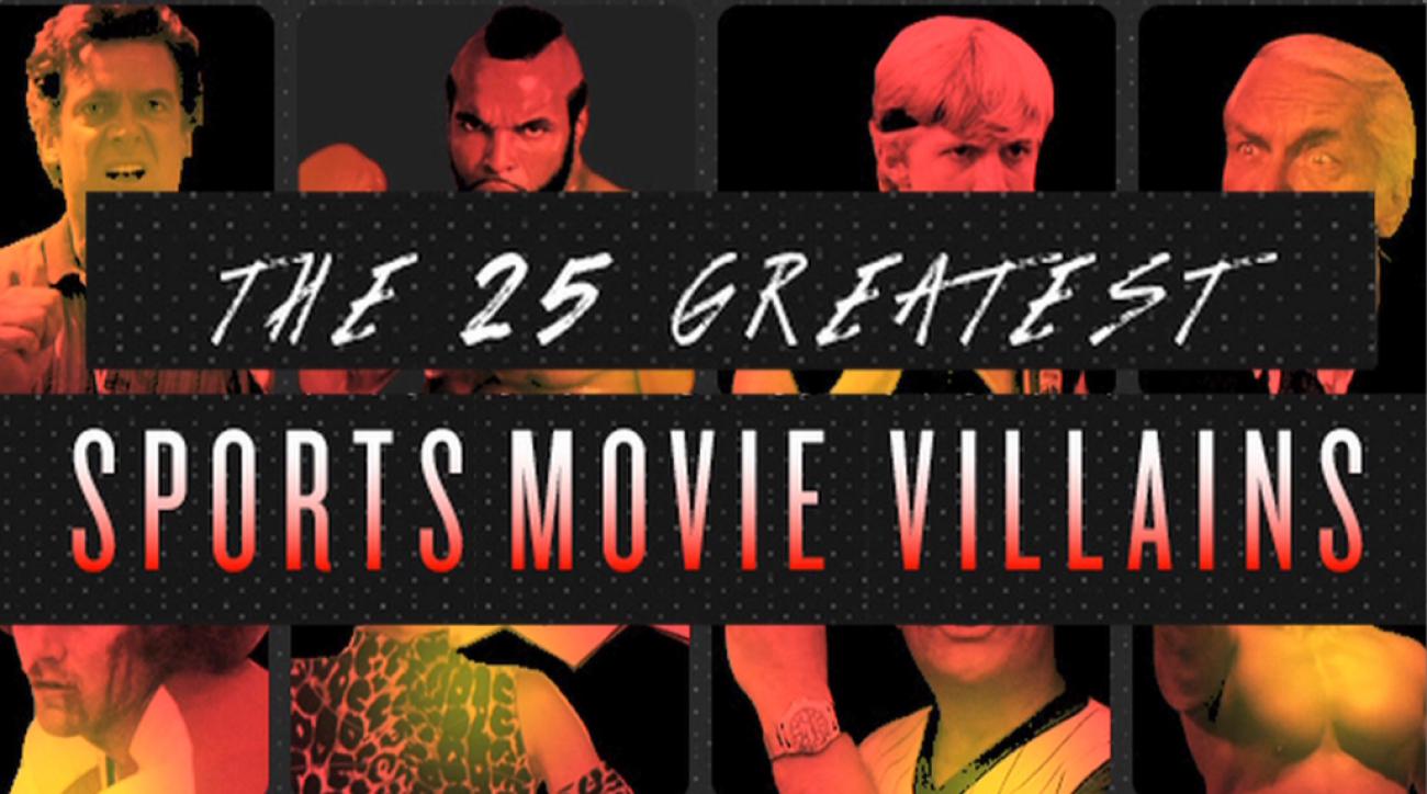 The 25 greatest sports movie villians