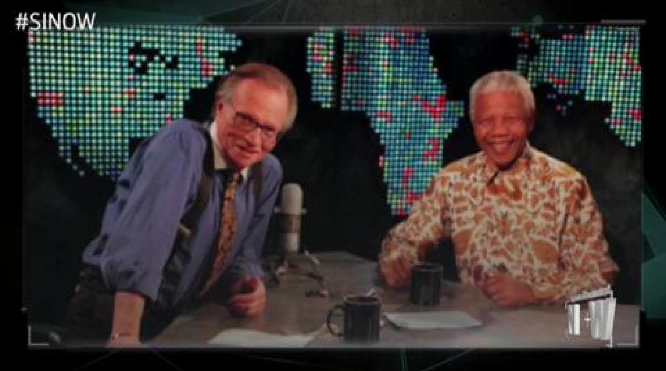 SI Now: Larry King on Nelson Mandela