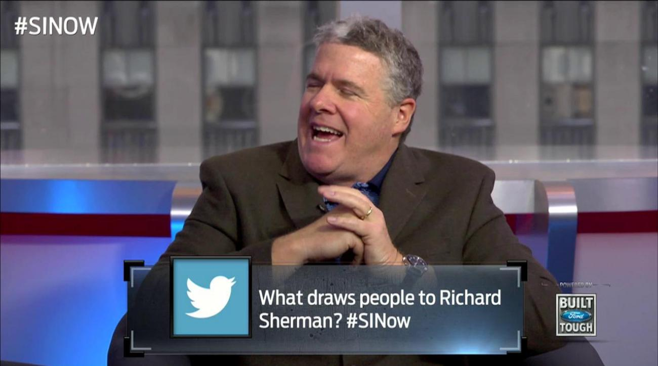 SI Now: Why Peter King recruited Richard Sherman for the MMQB