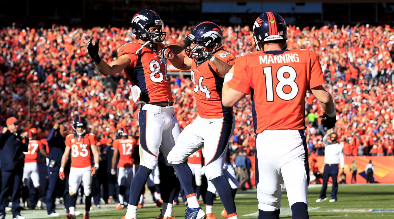 Broncos' wideouts find strength in numbers