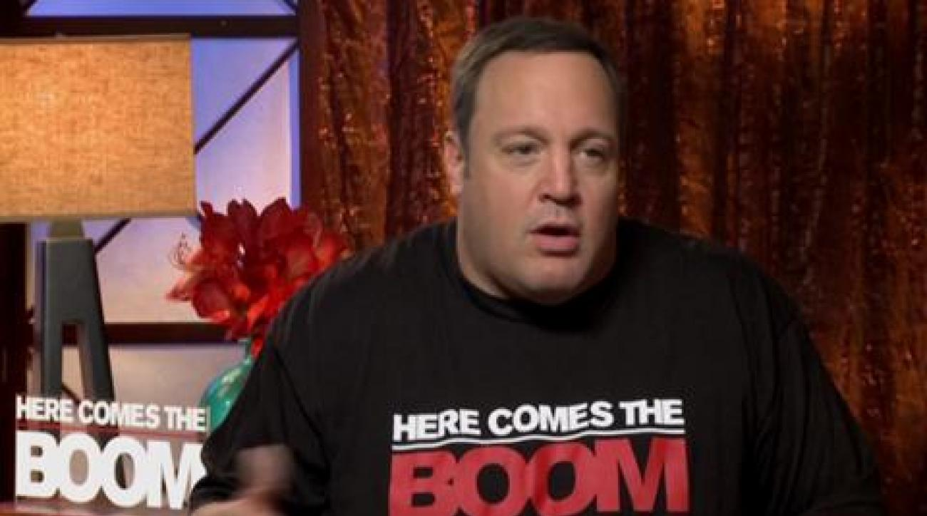 Kevin James: When MMA meets Hollywood