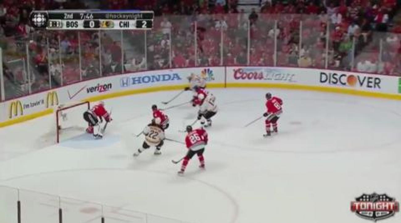Kane leads Blackhawks over Bruins in Game 5