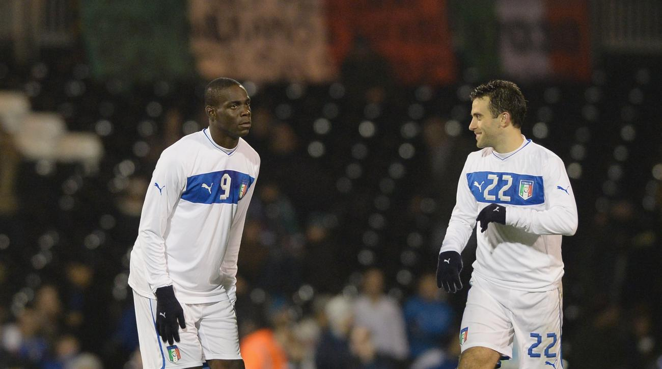 SI Now: Rossi on representing Italy with Mario Balotelli