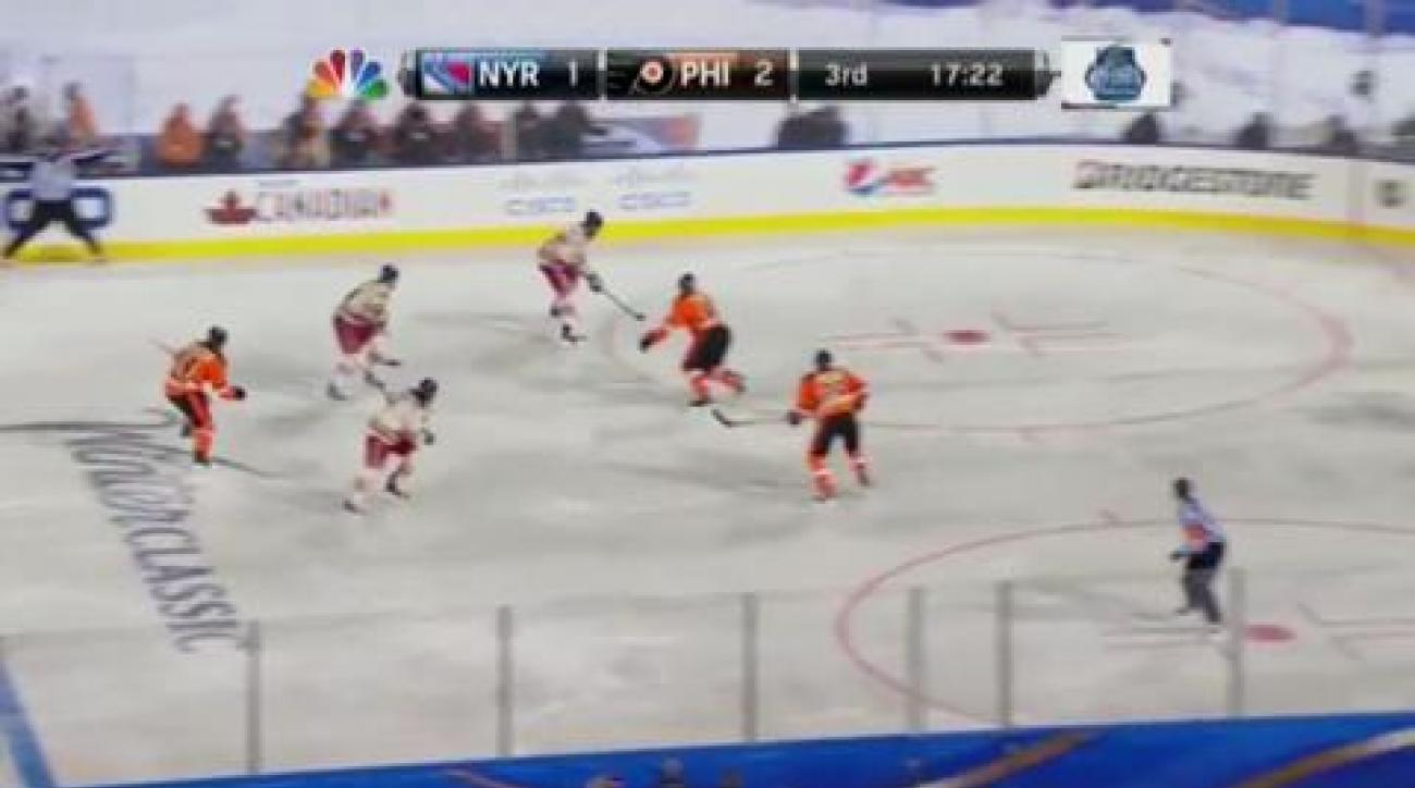 Rangers overtake Flyers in Winter Classic