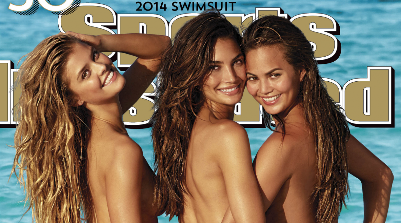 2014 SI Swimsuit cover models shocked with reveal