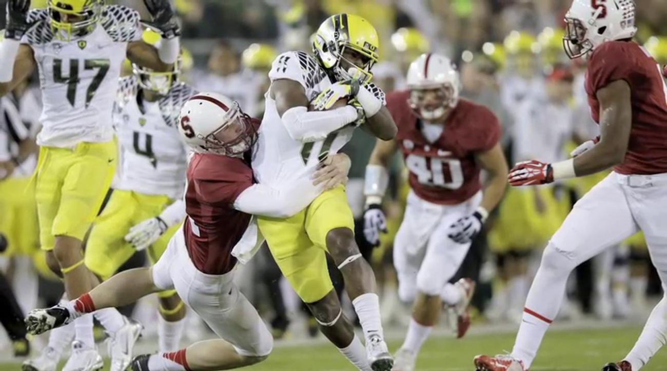 Stewart Mandel: Stanford stomps Oregon in impressive fashion