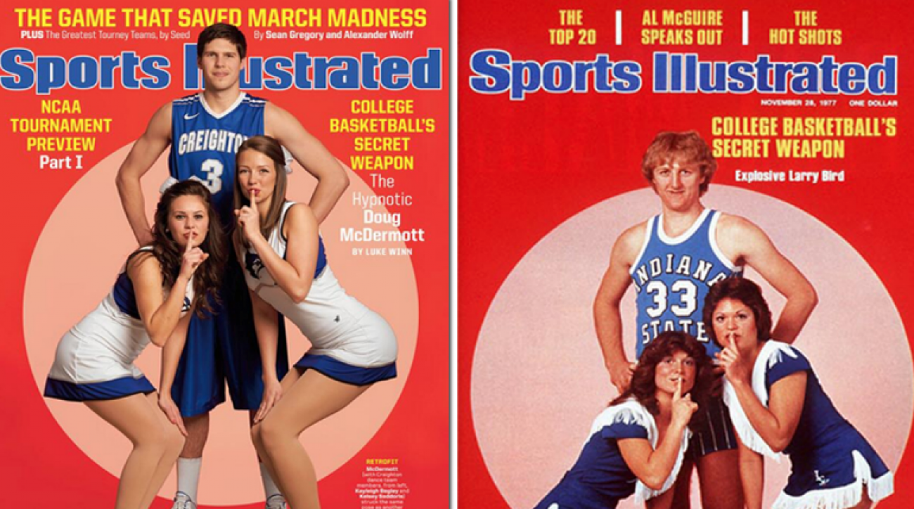 SI Now: Doug McDermott channels Larry Bird for SI Cover