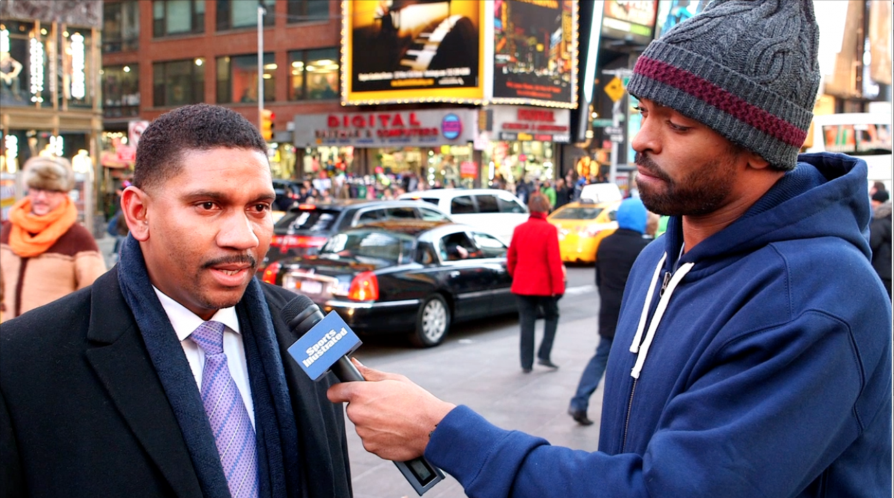Nets guard Alan Anderson asks New Yorkers about the NCAA tourney's unlikeliest Cinderellas