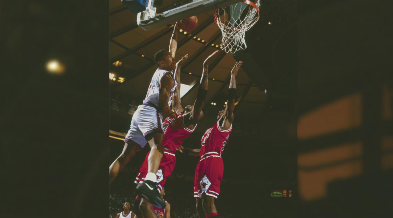 SI Now: John Starks relives dunking on Michael Jordan