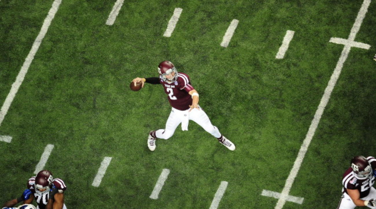 SI Now: Johnny Manziel is top NFL QB prospect says Peter King
