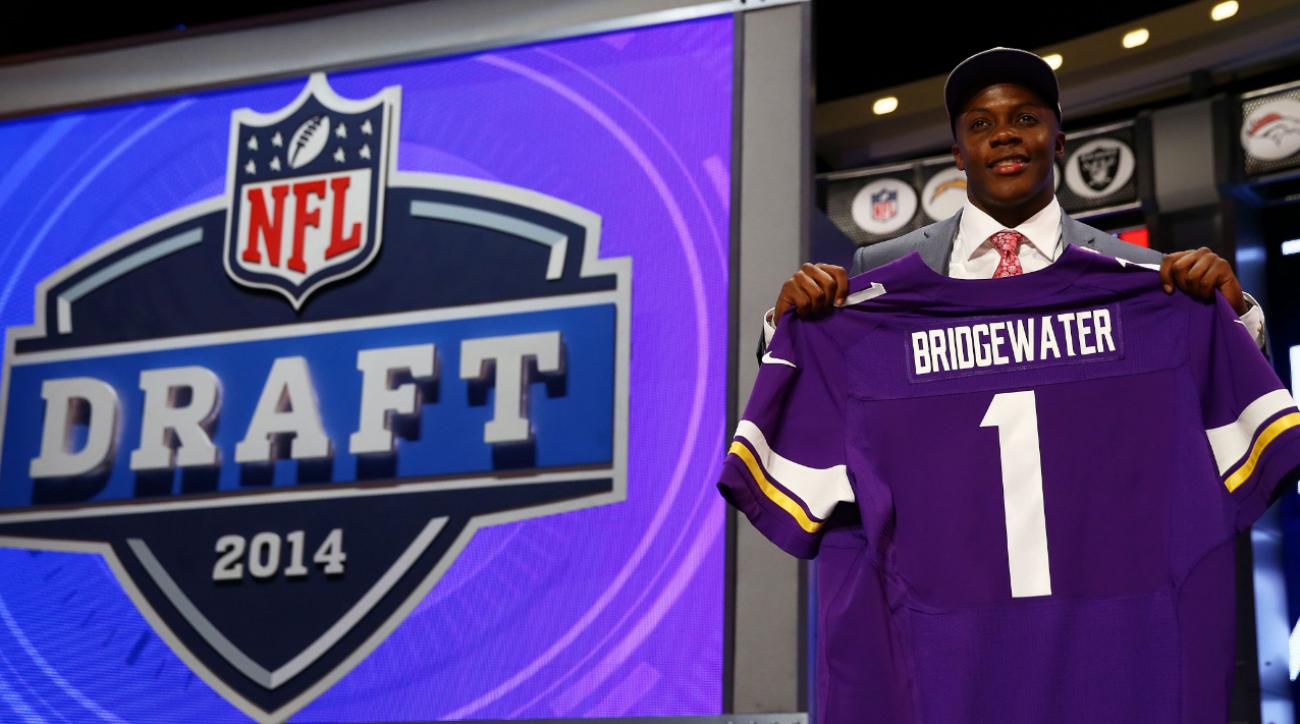 2014 NFL Draft: Quarterbacks rule in Round 1