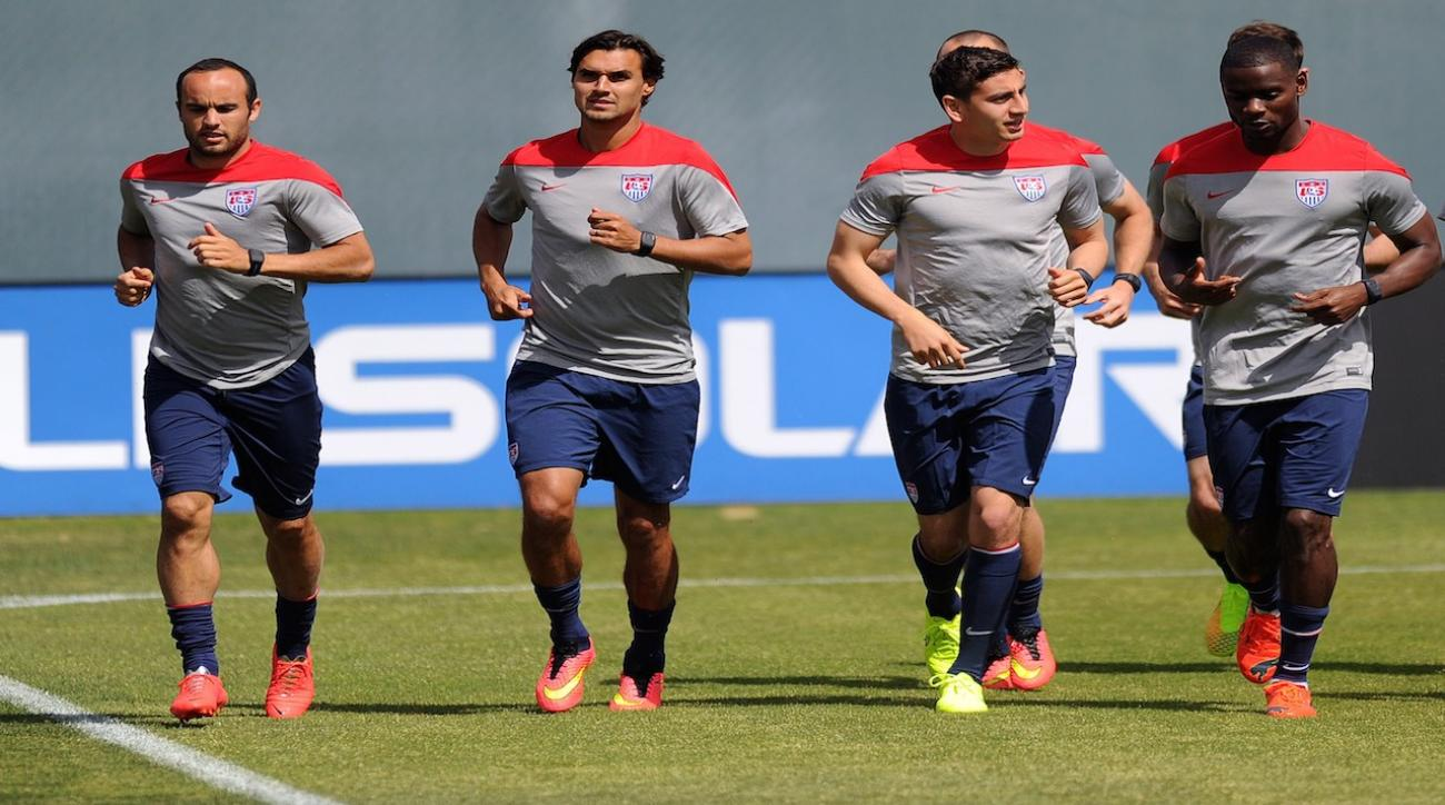Fitness, experience the hot topics as U.S. World Cup camp opens