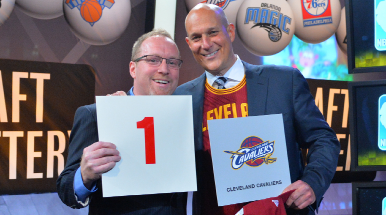 How winning the 2014 NBA draft lottery will affect Cavaliers