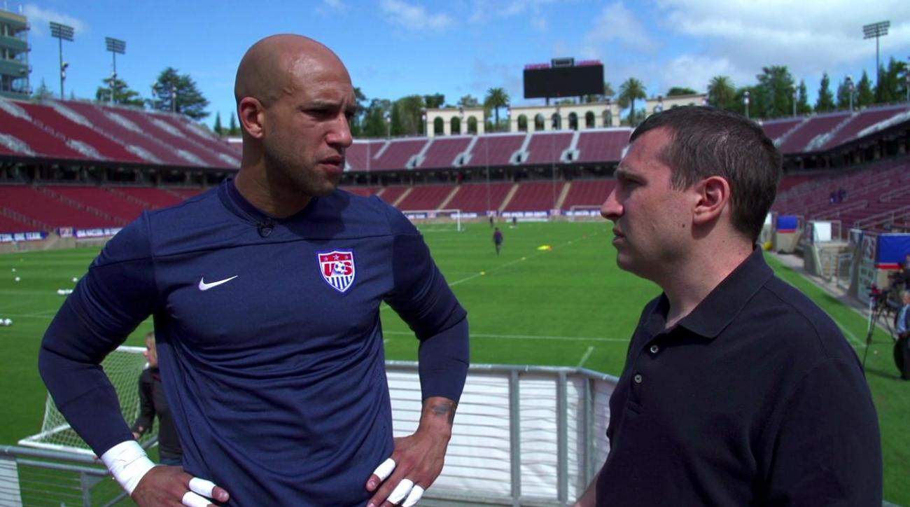 2014 World Cup: Tim Howard not concerned about USMNT defensive unit