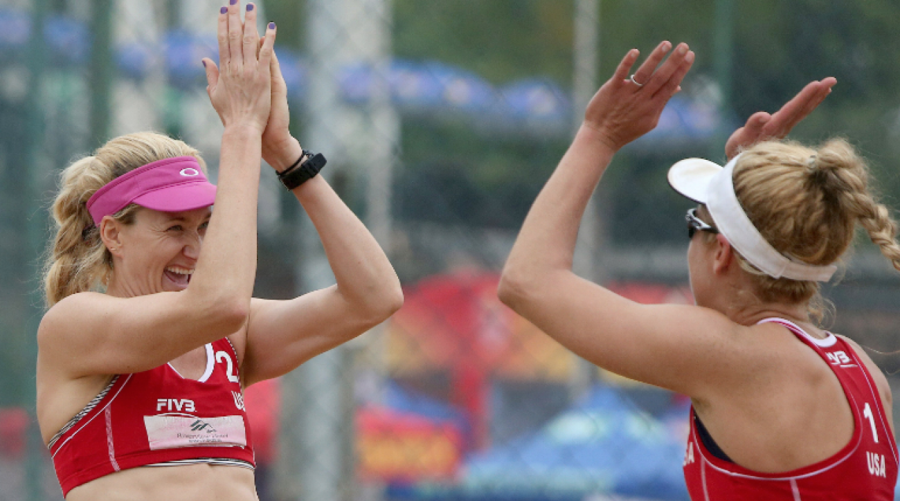 SI Now: Kerri Walsh Jennings aims to win gold in Rio without Misty May