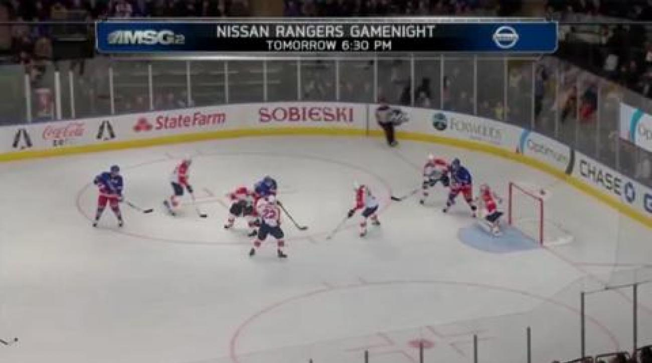 Rangers topple Panthers in OT