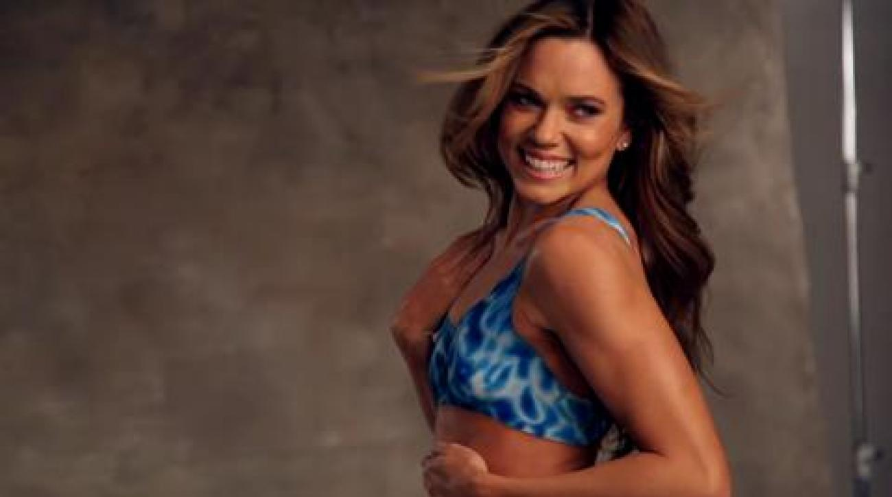 Natalie Coughlin Bodypaint