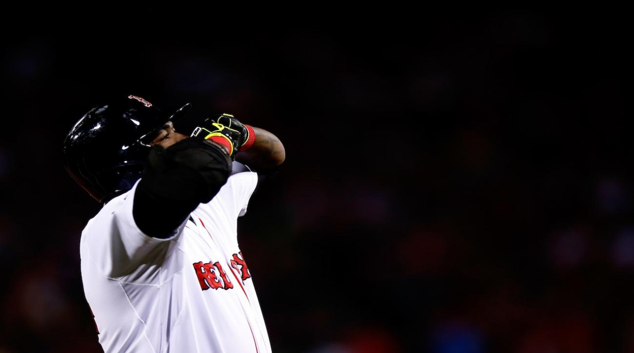 With no DH available in St. Louis, should Sox use Ortiz or Napoli at first?