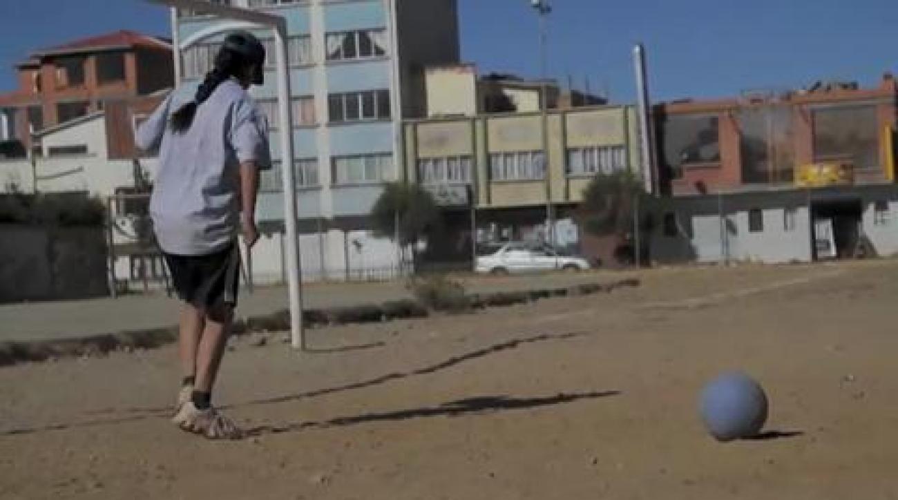 Bolivian girls get level playing field