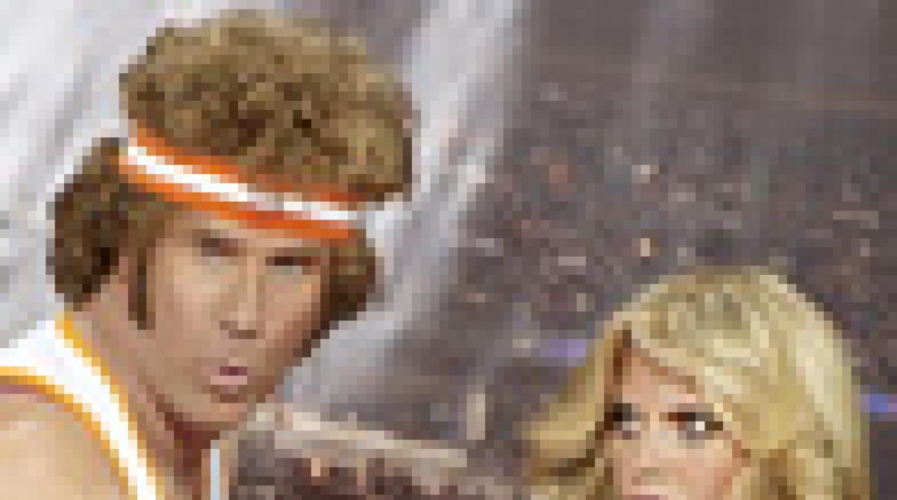 Will Ferrell and Heidi Klum