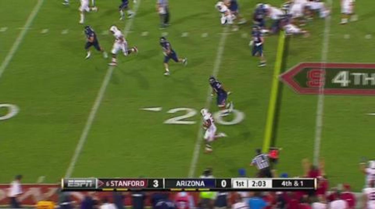 Luck leads Stanford to comfortable victory over Arizona