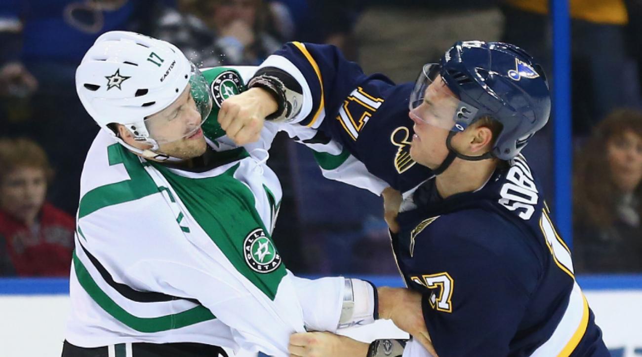 SI Now: Diego Klattenhoff on why he loves hockey fights