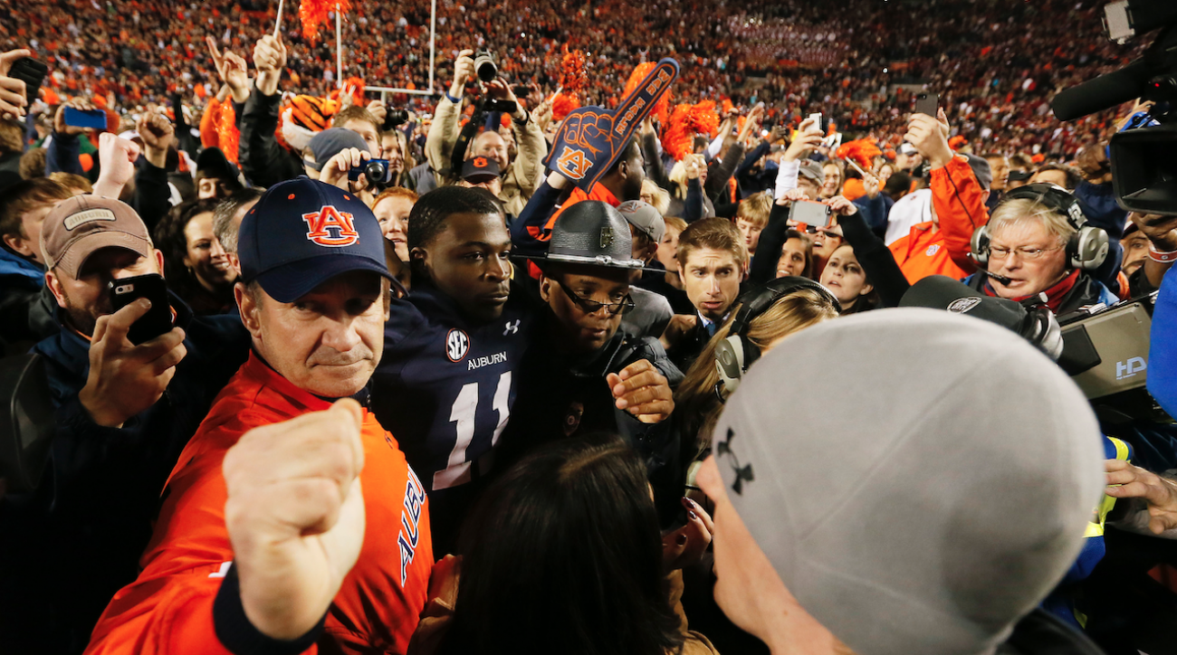 Auburn advances for shot at SEC crown with wild win over Alabama
