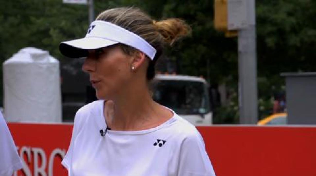 SI Now: Jim Courier and Monica Seles on Wimbledon