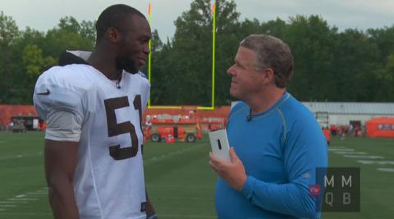 One-on-one with rookie Barkevious Mingo