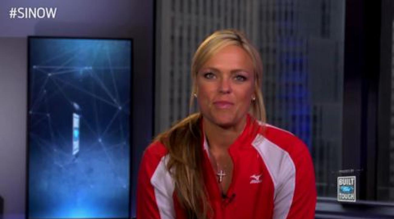 SI Now: Jennie Finch talks taking on a triathlon, posing for SI Swim again