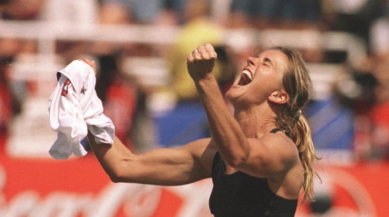 SI Now: Brandi Chastain on how '99 team transcended lines of field