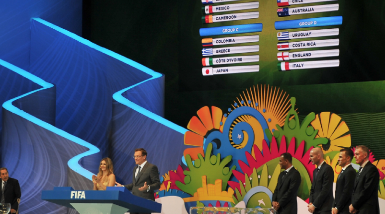 SI Now: U.S. draws toughest group ever for 2014 World Cup