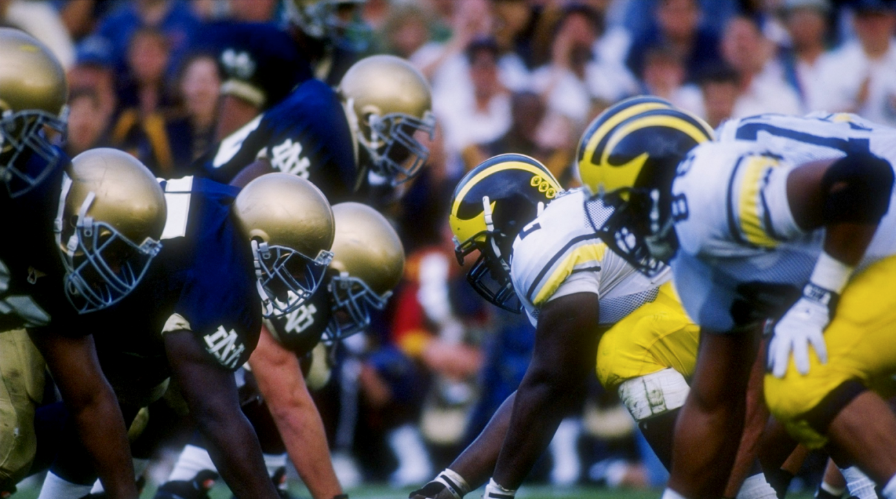 SI Now: Ty Law and Amani Toomer on Michigan-Notre Dame rivalry